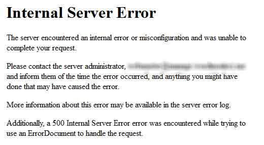 CARA MEMPERBAIKI INTERNAL SERVER ERROR PADA WORDPRESS
