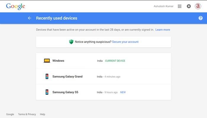 Google Tau Tentang Anda