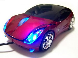Optical mouse optik Ferrari Mobil MouseCar 3D