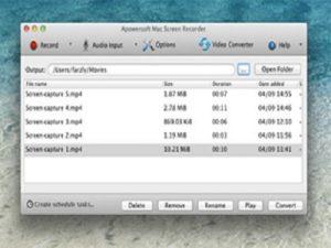 Software Gratis untuk Merekam Data di Komputer Mac.5