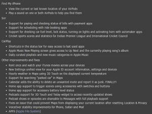 semua fitur baru dari iOS 10.3.6