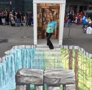 Ilusi Seni Kapur 3D Yang Menakjubkan