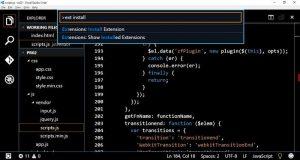 Menyesuaikan Kode Visual Studio