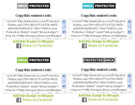 CARA MEMASANG DMCA BADGES DI WORDPRESS