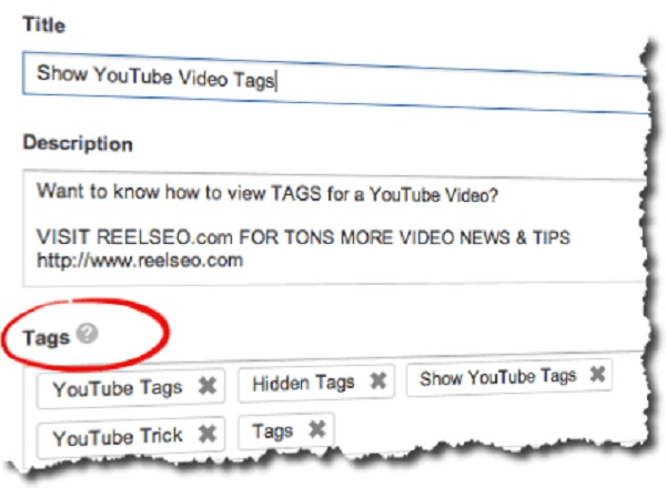 Tags Video Youtube