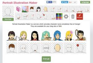 Website Untuk Membuat Karakter Kartun