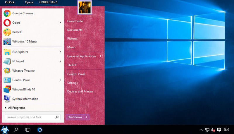 customize Windows 10
