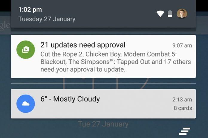 Pemberitahuan Lebih Cepat untuk HP Android