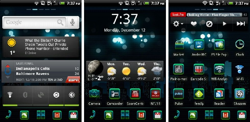 Aplikasi Homescreen dan Live Wallpapper