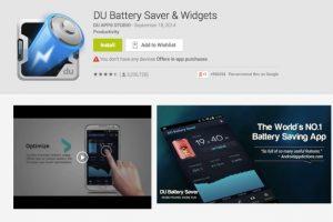 Aplikasi Terbaik untuk Membuat Baterai Android Awet1