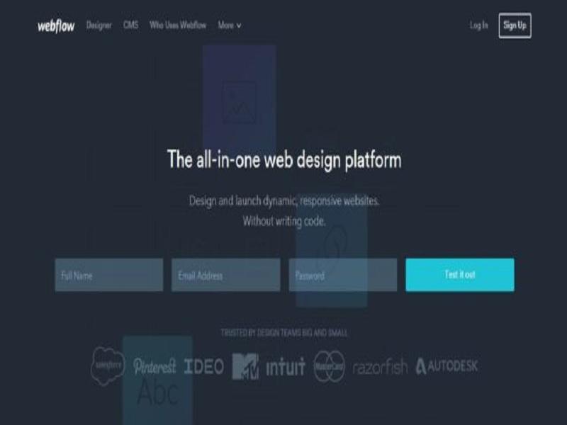 platform terkenal tahun 2017 untuk membangun website