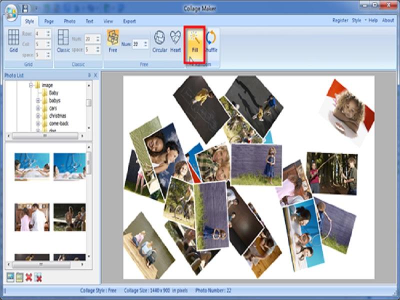 software pembuat foto kolase untuk Windows 8.1