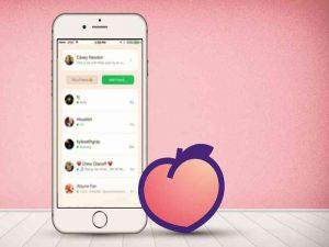 Aplikasi peach ini dinilai bisa saingi facebook