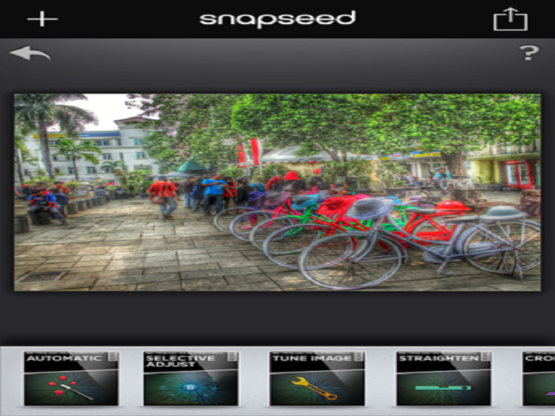Update Aplikasi Snapseed Dan Snow