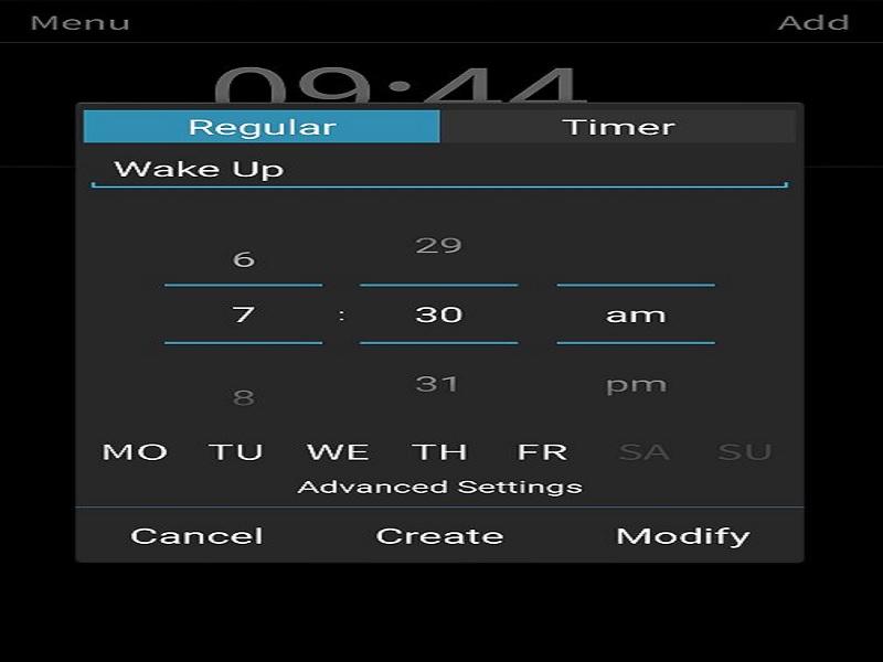 alarm Android jika Anda benci bangun pagi