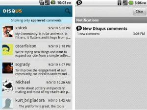 aplikasi pendukung untuk menjalankan blog dari Android.4