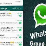 Batas grup member di aplikasi WhatsApp
