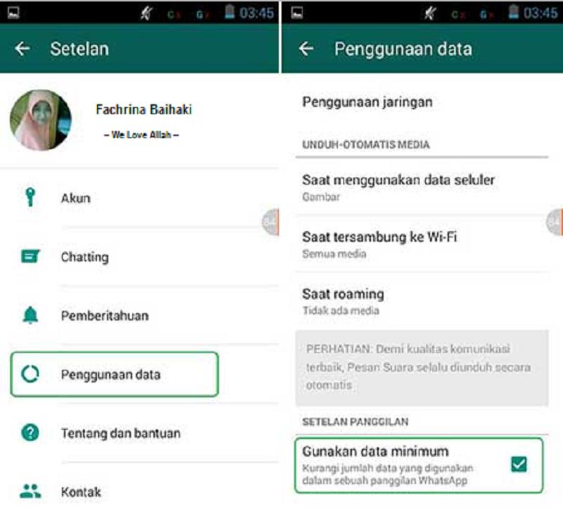 Hemat kuota data anda dengan fitur baru