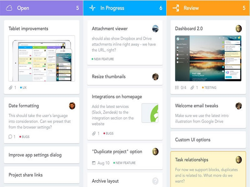 aplikasi untuk memantau pekerjaan tim desain