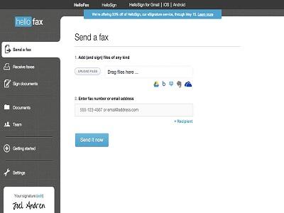 aplikasi untuk mengirim fax melalui Android