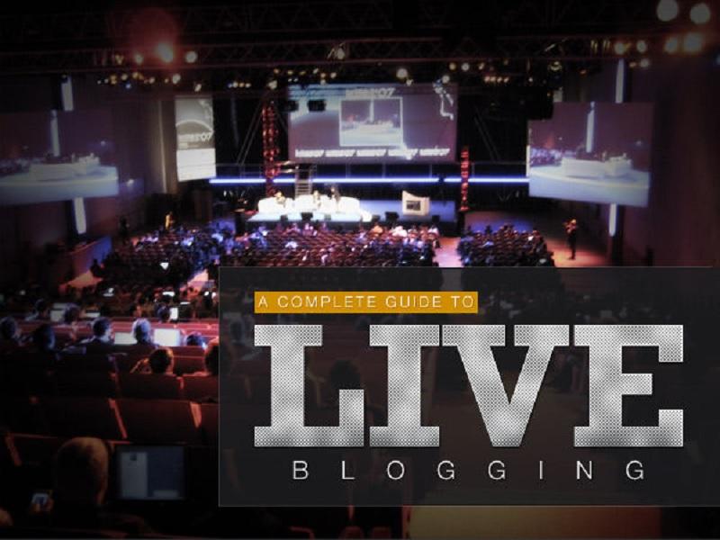petunjuk melakukan live blogging paling mudah