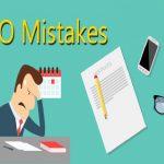 kesalahan SEO yang sering dilakukan ahli SEO