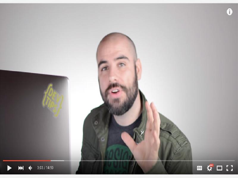 channel YouTube untuk mempelajari web design