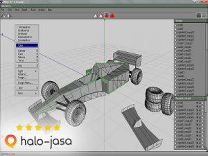 software gratis untuk membuat model 3D