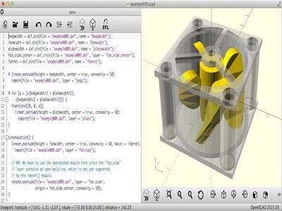 software gratis untuk membuat model 3D.3