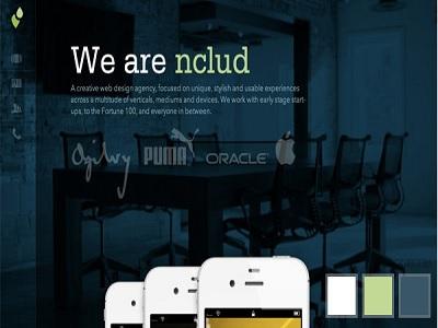 inspirasi desain website untuk bisnis pasang AC.2