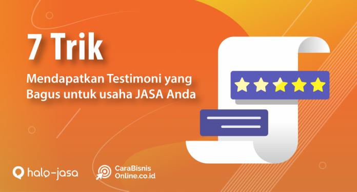 Cara Mendapatkan Testimonial Pelangan
