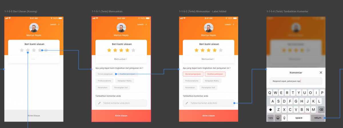 rating design ui ux